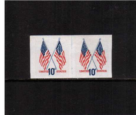 view larger image for  : SG Number 1518av / Scott Number 1519av (1973) - Crossed Flags