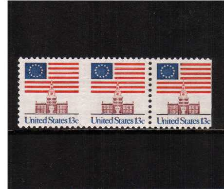 view larger image for  : SG Number 1606a / Scott Number 1622a (1975) - Flag over Independence Hall<br/>