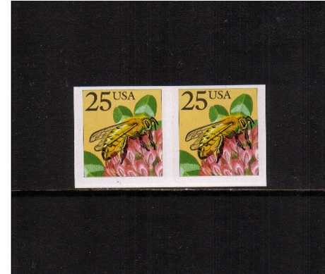 view larger image for  : SG Number 2369a / Scott Number 2281a (1988) - Honeybee