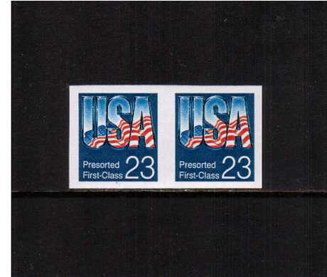 view larger image for  : SG Number 2678a / Scott Number 2607c (1992) - 'USA'<br/>
