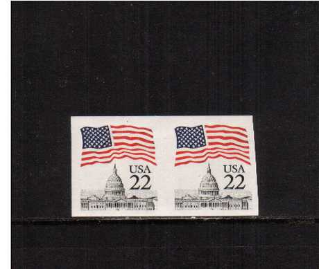 view larger image for  : SG Number 2177a / Scott Number 2115a (1985) - A superb unmounted mint IMPERFORATE coil pair