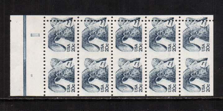 view larger image for  : SG Number 1926a / Scott Number 1949a (1982) - Bighorn Sheep<br/>