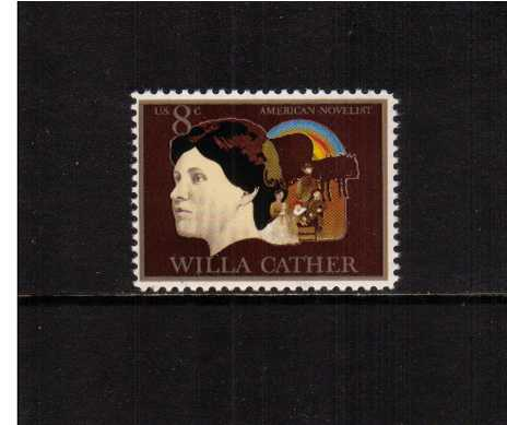 view larger image for  : SG Number 1488 / Scott Number 1487 (1973) - American Arts - Willa Cather