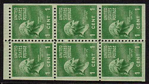 view larger image for  : SG Number 800c / Scott Number 804b (1938) - Geoprge Washington<br/>