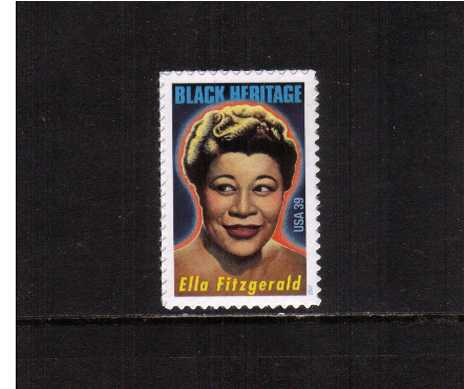 view larger image for Commemoratives 2006 - 2007 - Later Period Commemoratives: SG Number 4682 / Scott Number 39c - 10 January 2007 (2007) - Black Heritage Series - Ella Fitzgerald<br/><br/>