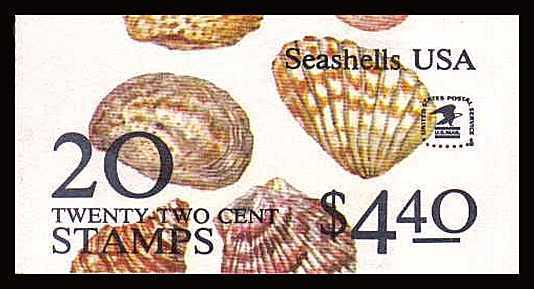 view larger image for Booklets Booklets: SG Number SB120 / Scott Number $4.40 (1985) - Seashells<br/>