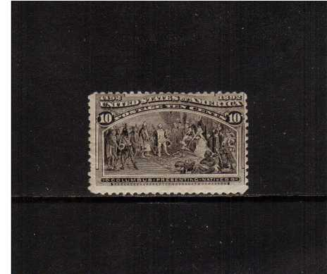 view larger image for  : SG Number 242 / Scott Number 237 (1893) - A good mounted mint stamp with a short perforation at left and average centering.