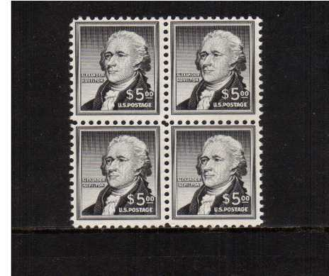view larger image for  : SG Number 1053 / Scott Number 1053 (1956) - Alexander Hamilton<br/>