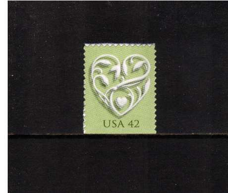 view larger image for  : SG Number 4859 / Scott Number 4271 (2008) - 'Wedding Hearts'<br/>