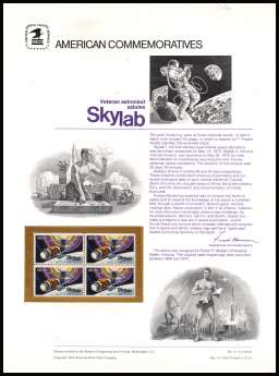 view larger image for  : SG Number 1527 / Scott Number 1529 (1974) - Skylab