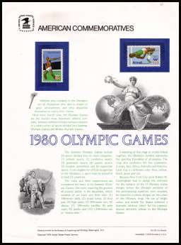 view larger image for  : SG Number 1765, A1769 / Scott Number 1790, C97 (1979) - Olympic Games