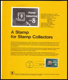 view larger image for Pages Pages: SG Number 1479 / Scott Number 17 November 1972 (1972) - Stamp Collecting<br/><b>Official Souvenir Page</b>