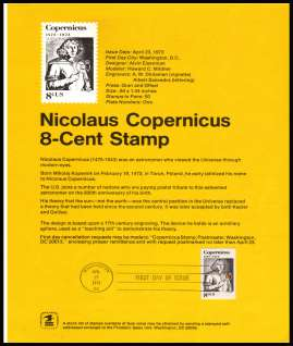 view larger image for Pages Pages: SG Number 1489 / Scott Number 23 April 1973 (1973) - Nicholas Copernicus