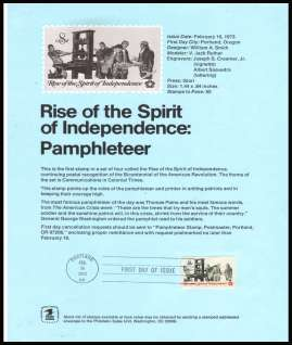 view larger image for Pages Pages: SG Number 1481 / Scott Number 16 February 1973 (1973) - Printers