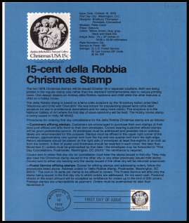 view larger image for Pages Pages: SG Number 1741 / Scott Number 18 October 1978 (1978) - Christmas - Madonna