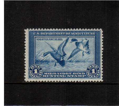 view larger image for Federal Ducks Federal Ducks: SG Number  / Scott Number $1 (1934) - Migratory Bird Hunting and Conservation Stamp<br/>