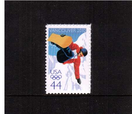 view larger image for  : SG Number 5014 / Scott Number 4436 (2010) - 2010 Winter Olympics - Vancouver<br/><br/>Self Adhesive
