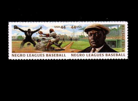view larger image for  : SG Number 5053a / Scott Number 4466a (2010) - Negro Leagues Baseball pair