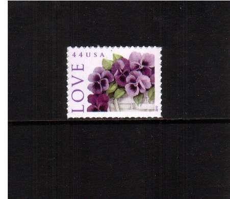 view larger image for  : SG Number 5037 / Scott Number 4450 (2010) - LOVE - Pansies in a Basket
