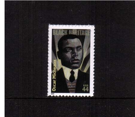 view larger image for  : SG Number 5052 / Scott Number 4464 (2010) - Black Heritage - Oscar Micheaux, Film Director 