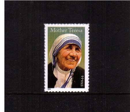 view larger image for  : SG Number 5063 / Scott Number 4475 (2010) - Mother Teresa of Calcutta