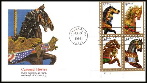 View USA Stamps Random Selection: 2979a - 1995