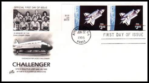 space shuttle challenger first day cover - photo #2