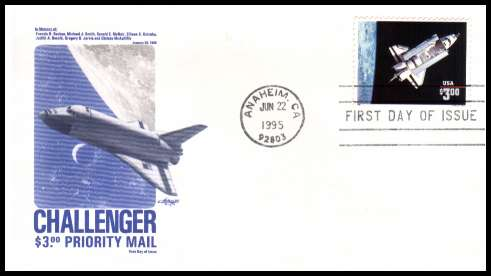 space shuttle challenger first day cover - photo #1