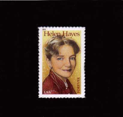 view larger image for  : SG Number 5121 / Scott Number 4525 (2011) - Helen Hayes - Actress