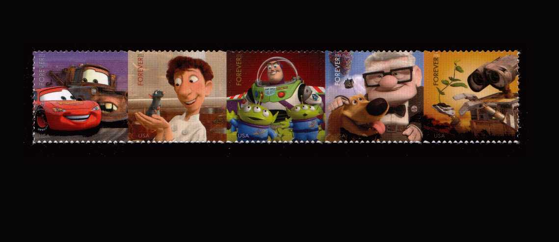 view larger image for  : SG Number 5159a / Scott Number 4557a (2011) - Pixar Films - Send a Hello<br/.
