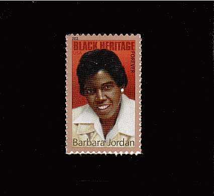 view larger image for  : SG Number 5165 / Scott Number 4565 (2011) - Black Heritage - Barbara Jordan