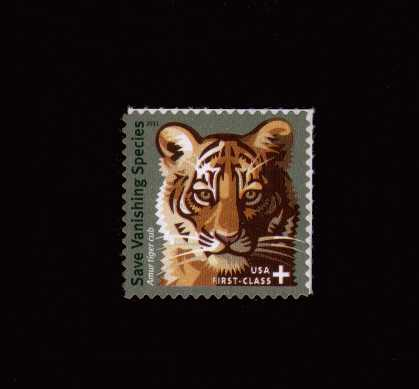 view larger image for  : SG Number 5166 / Scott Number B4 (2011) - Save Vanishing Species - Tiger