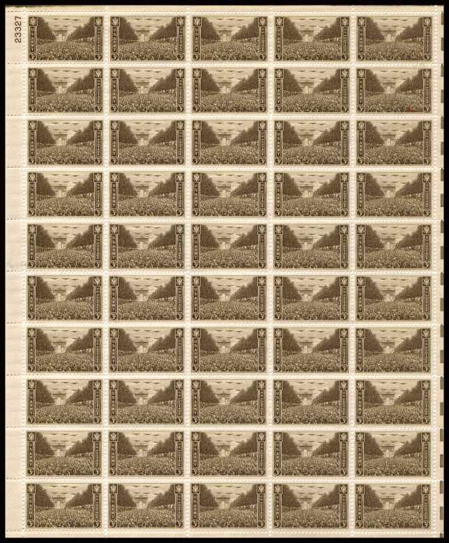 view larger image for  : SG Number 931sh / Scott Number 934sh (1945) - Army<br/>