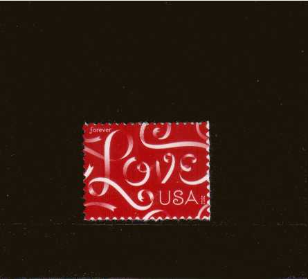 view larger image for  : SG Number 5229 / Scott Number 4626 (2012) - ''Love'' single