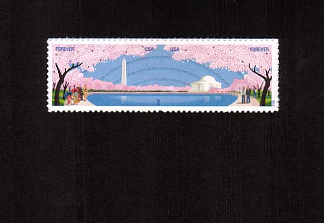 view larger image for  : SG Number 5255a / Scott Number 4652a (2012) - Cherry Blossom Centennial pair
