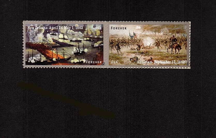 view larger image for  : SG Number MS5268v / Scott Number 4665a (2012) - Civil War Sesquicentennial - 2nd Series<br/>