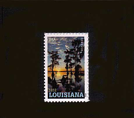 view larger image for  : SG Number 5270 / Scott Number 4667 (2012) - Louisianna Statehood Bicentennial