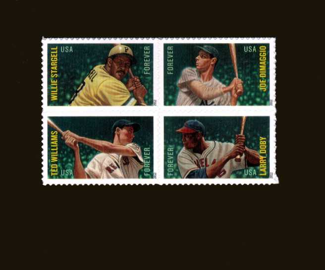 view larger image for  : SG Number 5297a / Scott Number 4697a (2012) - Major League Basball All-Stars<br/>