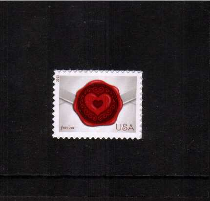 view larger image for  : SG Number 5367 / Scott Number 4741 (2013) - ''Sealed With Love''