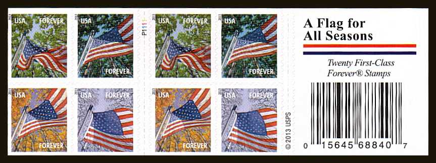 Usa Stamps Browse Usa Stamps Booklet Panes Amp Atm Type