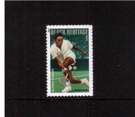 view larger image for  : SG Number 5433 / Scott Number 4803 (2013) - Black Heritage - Althea Gibson 