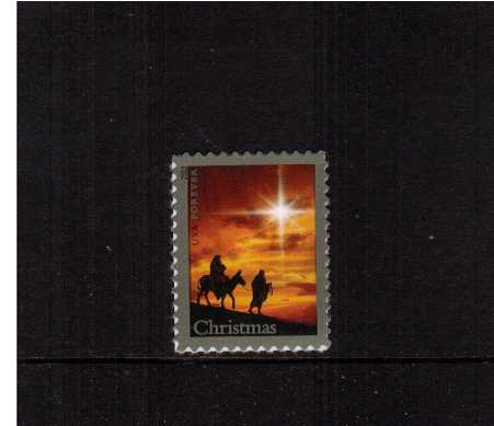 view larger image for  : SG Number 5445 / Scott Number 4813 (2013) - Holy Family - Christmas single - dated 2013<br/>Sheet stamp