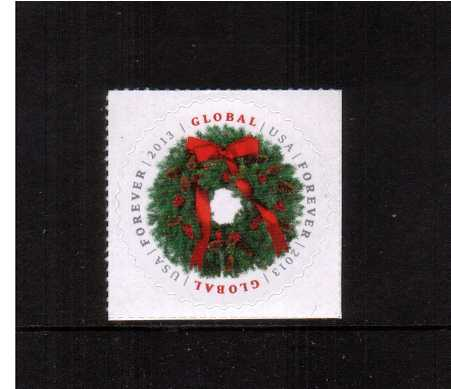 view larger image for  : SG Number 5447 / Scott Number 4814 (2013) - Christmas - Global Forever Stamp