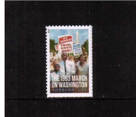view larger image for  : SG Number 5434 / Scott Number 4804 (2013) - March on Washington