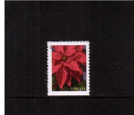 view larger image for  : SG Number 5443 / Scott Number 4816 (2013) - Christmas Poinsettia<br/>