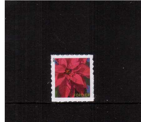 view larger image for  : SG Number 5444 / Scott Number 4821 (2013) - Christmas Poinsettia<br/>