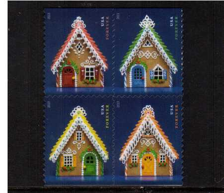 view larger image for  : SG Number 5448a / Scott Number 4820b (2013) - Christmas - Gingerbread Houses<br/>