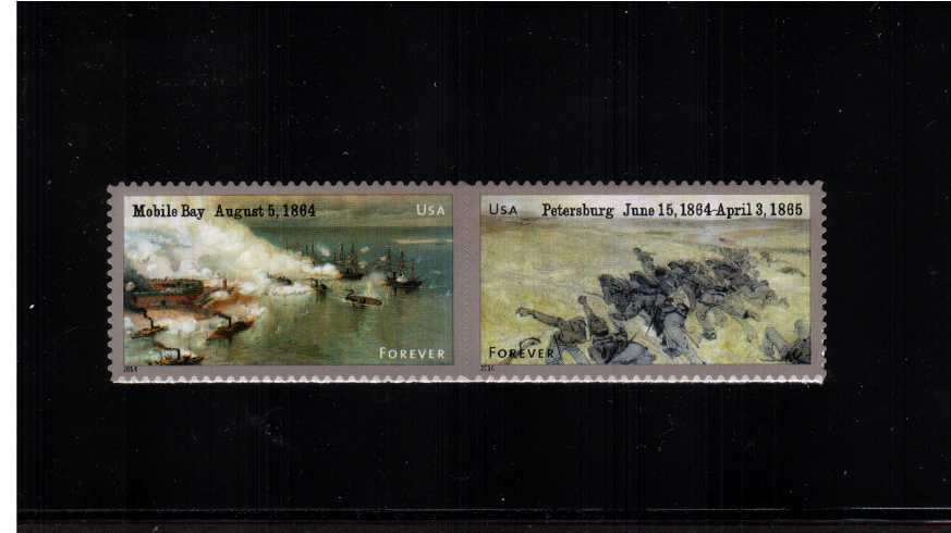 view larger image for  : SG Number 5527a / Scott Number 4911a (2014) - Civil War Sesquicentennial - 4th Series