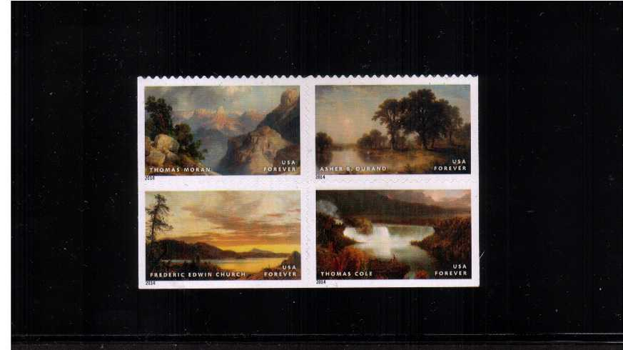 view larger image for  : SG Number 5533-5536 / Scott Number 4917-4920 (2014) - American Treasures<br/>