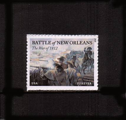 view larger image for  : SG Number  / Scott Number 4952 (2015) - The War of 1812<br/>Battle of New Orleans<br/><br/>